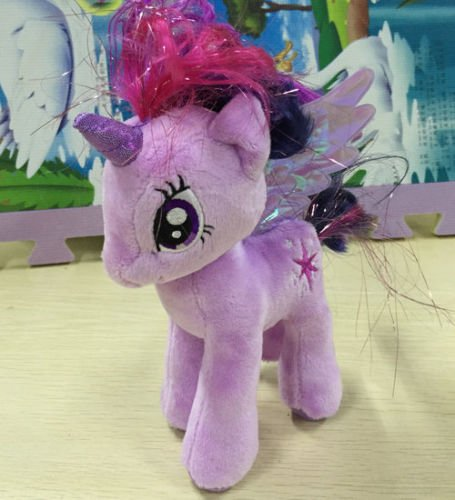 "ty beanies baby 2015 My little Pony Twilight Sparkles Stuffed 7"" plush doll"