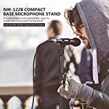 Neewer Compact Base Microphone Floor Stand with Mic