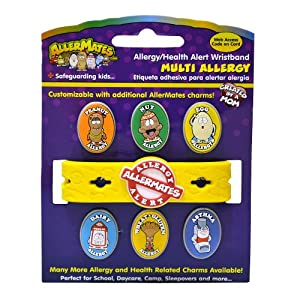 AllerMates Multi Allergy Wristband Kit
