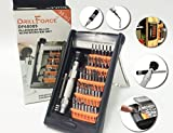 38Pcs Magnetic Precision Screwdriver Set with Magnetizer & Electronic Opener for iPhones, PC, Maintenance Samsung Galaxy, Watch, Cell Phone, Jewelers, Repair, Apple 7, Drone, All-in-one Tools