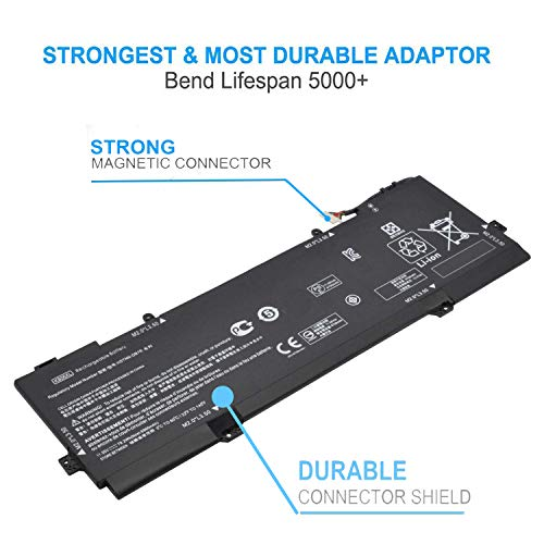 Emaks KB06XL Battery for HP Spectre X360 15-bl000 15t-bl000:15-bl075nr 15-bl012dx 15-bl152nr 15t-bl100 2PG91EA Z6L02EA Z6L01EA Z6L00EA Z6K99EA Z6K97EA Z6K96EA 902401-2C1 902499-855 HSTNN-DB7R TPN-Q179 by Emaks (Image #3)