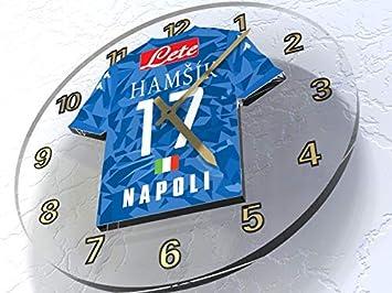 Serie A - italiano camiseta de fútbol relojes de pared - cualquier nombre, cualquier número, cualquier equipo - personalización gratuita.