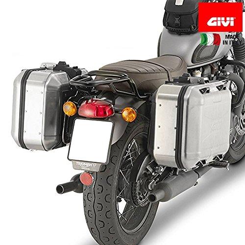 GIVI PL6410 Monokey Tubular Side-Case Holder - Triumph Bonneville