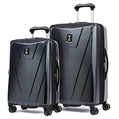 Travelpro Maxlite 4  2 Piece Hardside Set , Navy and Black