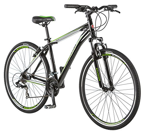 Schwinn or2 700C Men's Hybrid Bicycle, Black, 18