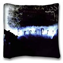 Custom Characteristic ( Anime Ergo Proxy ) Pillowcase Cushion Cover Design Standard Size 16x16 inches One Sides suitable for Queen-bed PC-Green-12524