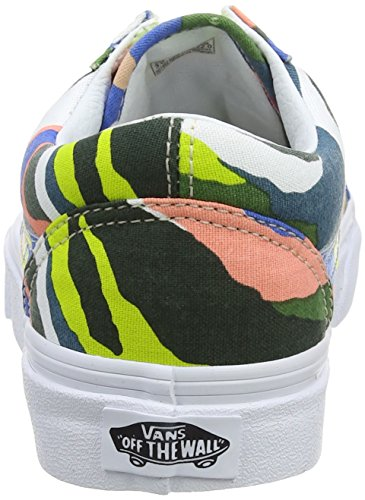 gray White Ridge Multicolor Zapatillas Horizon Multi Mujer Old true Abstract Vans para Ua Skool POTwvA