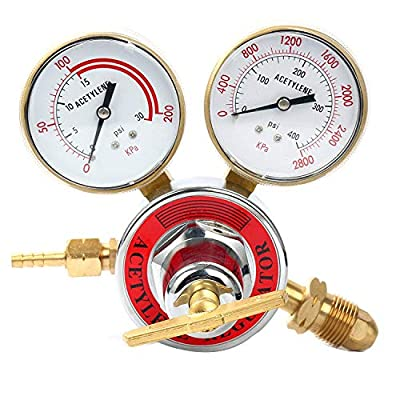 Yaetek Welding gas welder Acetylene Regulator / Oxygen Regulator