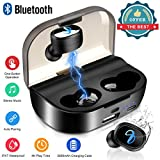 Wireless Earbuds,Bluetooth Earpieces IPX7 Waterproof Wireless Earphones Bluetooth 5.0 Headphones Stereo Noise Cancelling in Ear Earbuds Bluetooth Wireless Headset Sports Bluetooth Earbuds with Mic