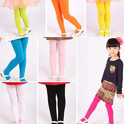 Opaque Fashion Leggings - Spring Fashion Toddler Girls Kids Leggings Footed Tights Stockings Opaque Pantyhose Ballet Dance Pants