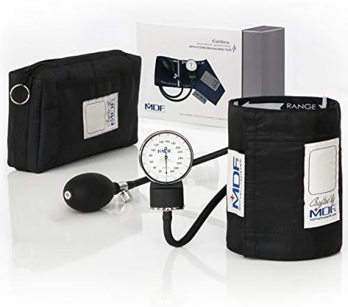 MDF® Calibra® Esfigmomanómetro aneroide Calibra - Monitor de presión arterial - Negro (NoirNoir) - (MDF808M-11): Amazon.es: Salud y cuidado personal