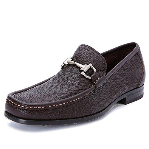 DHFUD Chaussures De Mode Classiques Hommes d'affaires Occasionnels Chaussures De Mode Brown GgOOAWivwU