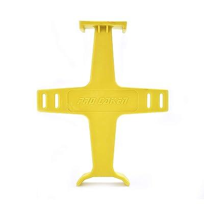 "PRO CAKEN 10-1/2"" Tie Down Brace Motocross Dirt Bike Fork Saver Wheel Support Suspension (Yellow): Automotive"