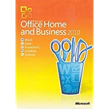 Microsoft Office Home And Business 2010 DVD with Lifetime License 1 User