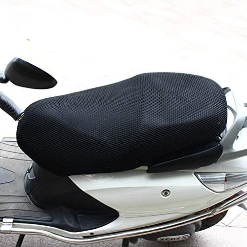 tama/ño: S estera de la motoci Motocicleta neta estera Capa transpirable motocicleta protector solar doble 3D de nido de abeja peque/ño agujero de poli/éster Coj/ín de malla longitud: 70cm;Ancho: 50 cm