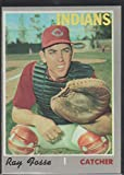 1970 Topps Ray Fosse Indians Baseball Card #184