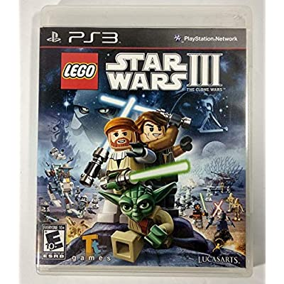 LEGO Star Wars III The Clone Wars - Playstation 3: Disney Interactive: Video Games