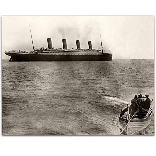 The Titanic's Last Known Photograph - 11x14 Unframed Art Print - Great Gift for People Who Are Fascinated by The Titanic