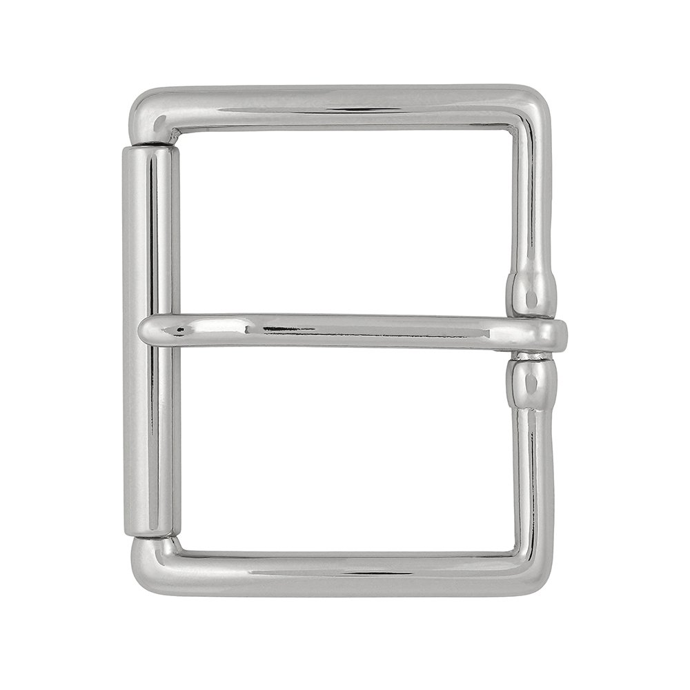 G/ürtelschnalle Buckle 50mm Metall Silber Poliert Dornschliesse F/ür G/ürtel Mit 5cm Breite Silberfarben Poliert Buckle Plain