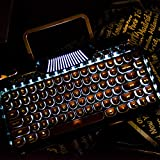RYMEK Mechanical Wired & Wireless Keyboard with