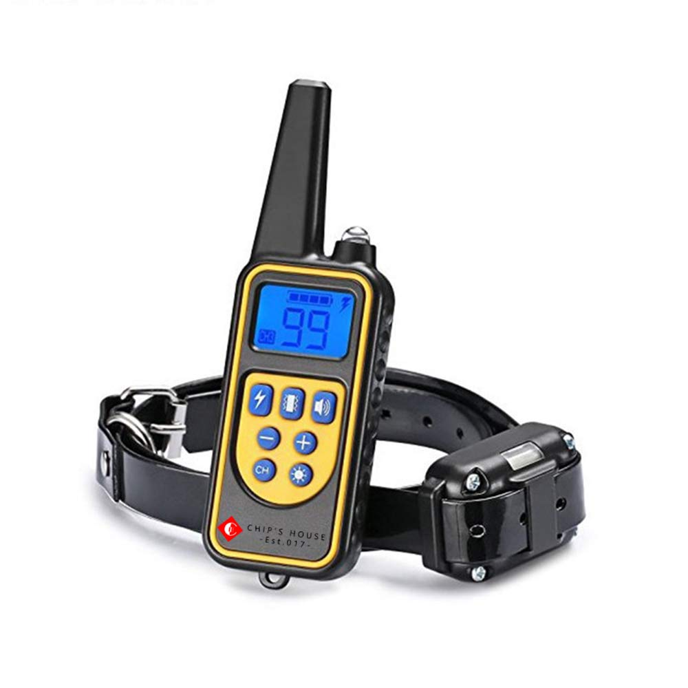 Altman Dog Shock Collar 350yard Remote Training and 100% Waterproof Rechargeable Shock Collar with Beep Vibration and Electric Dog Collar for Dogs (bluee)