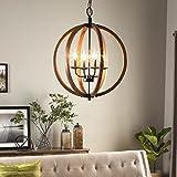 I Love Living Vineyard Orb 4-light Chandelier