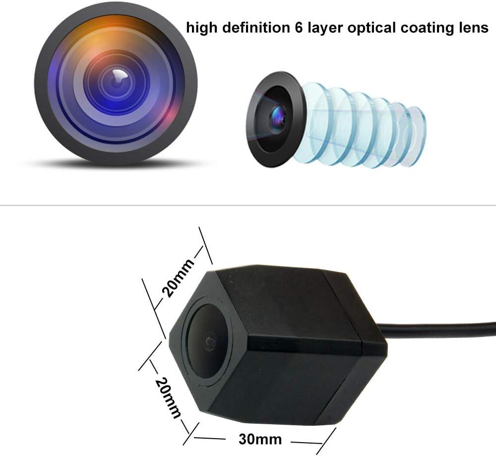 aSATAH Full HD Camera Car Rear View Camera for Audi A3 A4 S4 RS4 A6 C6 S6 RS6 A8 S8 Q7//Q7 DTI /& Vehicle Camera Waterproof and Shockproof Reversing Backup Camera Full HD Camera