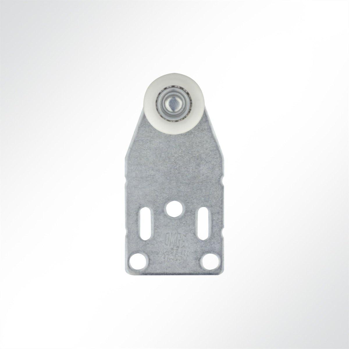 1 St/ück LYSEL Laufrolle F/ührungsrollen Laufwagen Rollenlaufwerk Nylonrolle Laufschiene 35 Kg