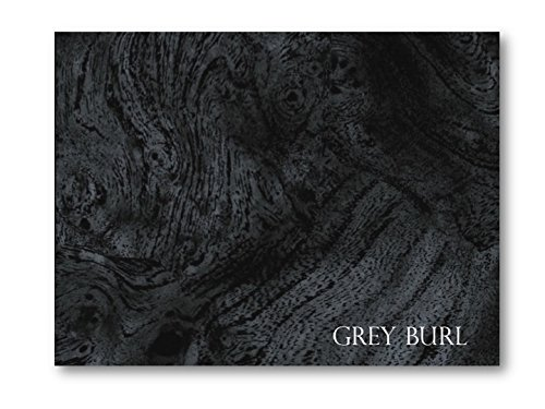 Gray Burl ABS thermoplastic sheet for boat instrument panel 24 x 48 x 3/16
