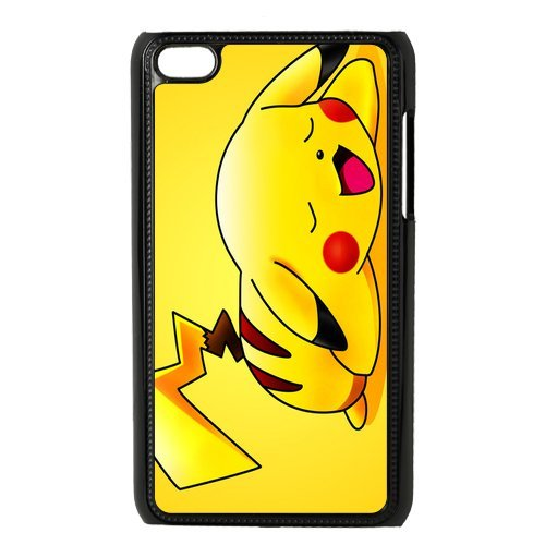 Case.Store-Pikachu Phone Case Customized Hard Snap-On Plastic Case for iPod Touch 4, 4th Generation Cases iPod 4 TY070 (4th Case Generation Pikachu Ipod)