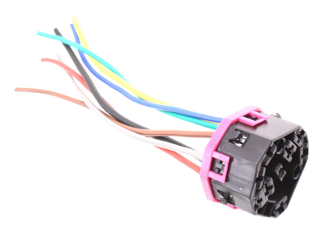 Ignition Switch Wiring Plug Pigtail Compatible With VW Jetta Golf MK4 Beetle Passat 4A0 971 975 by EuroPlug