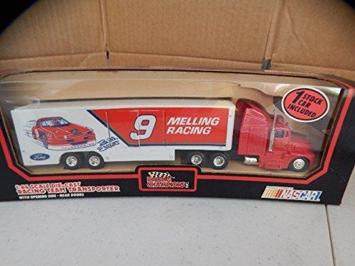Racing Champions Bill Elliott # 9 Melling Transporter 1/64 (Champions Racing Bill)