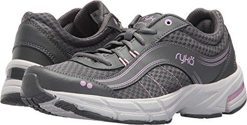 Ryka Women's Impulse Walking Shoe, Grey/Pink, 8 M US from Ryka