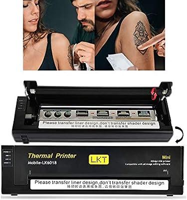 Impresora térmica profesional Tatuaje Copiadora térmica ...