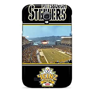 FzF4062HoYY Tpu Phone Case With Fashionable Look For Galaxy S4 - Pittsburgh Steelers
