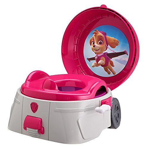 The First Years Nickelodeon Skye Paw Patrol 3-in-1 Potty System, Red