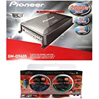 Pioneer GM-D9605 Gm Digital Series Class D Amp (5-Channel Bridgeable, 2,000W Max) + Absolute Kit 850 4 Gauge Amplifier Kit.