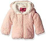 Weatherproof Baby Girls Sherpa Polar Fleece Jacket, Blush, 12M
