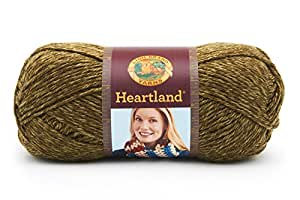 Lion Brand Yarn 136-174 Heartland Yarn, Joshua Tree