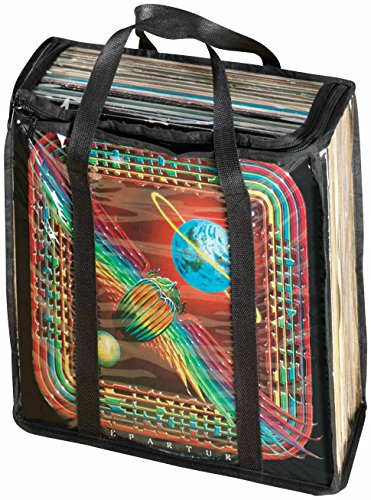 WalterDrake Clear Vinyl Record Carrying Case
