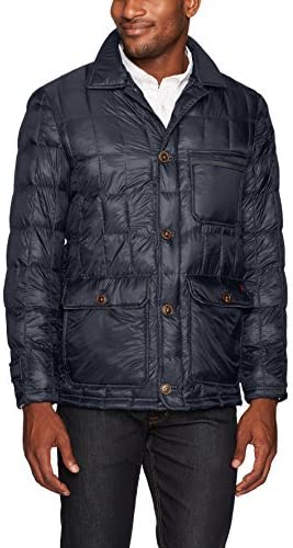Thermoluxe Heat System Mens Butler Quileted Walking Jacket with Integrated Heat System
