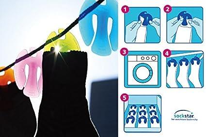 Sockstar - Emparejador de calcetines (20 unidades)