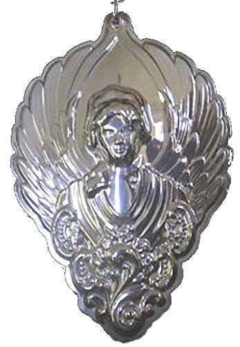 (2003 Wallace Grande Baroque Angel Sterling Christmas Ornament 3rd Edition)