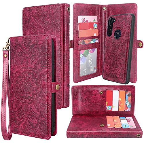 Harryshell Detachable Magnetic 12 Card Slots Wallet
