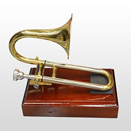 Schiller Mini Slide Trumpet with Stand