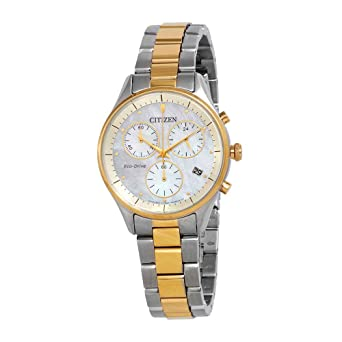 98eba6155f2069 Amazon.com: Citizen Watches Women's FB1444-56D Chandler Two-Tone One ...
