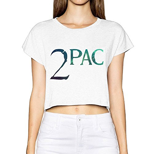 SAXON Women's Lovely 2 PAC Logo Bare Midriff Short Sleeve (Sectional Make Own Sofa Your)