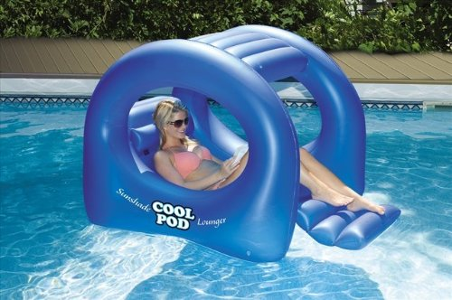 Swimline Coolpod Sunshade Pool Lounger