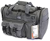 "18"" Tactical Duffle Military Molle Gear Shoulder Strap Range Bag TF118 GMG Gunmetal Grey"