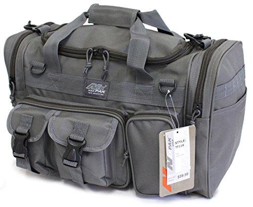 Military Molle Gear Shoulder Strap Range Bag TF118 GMG Gunmetal Grey (Large Range Bag)